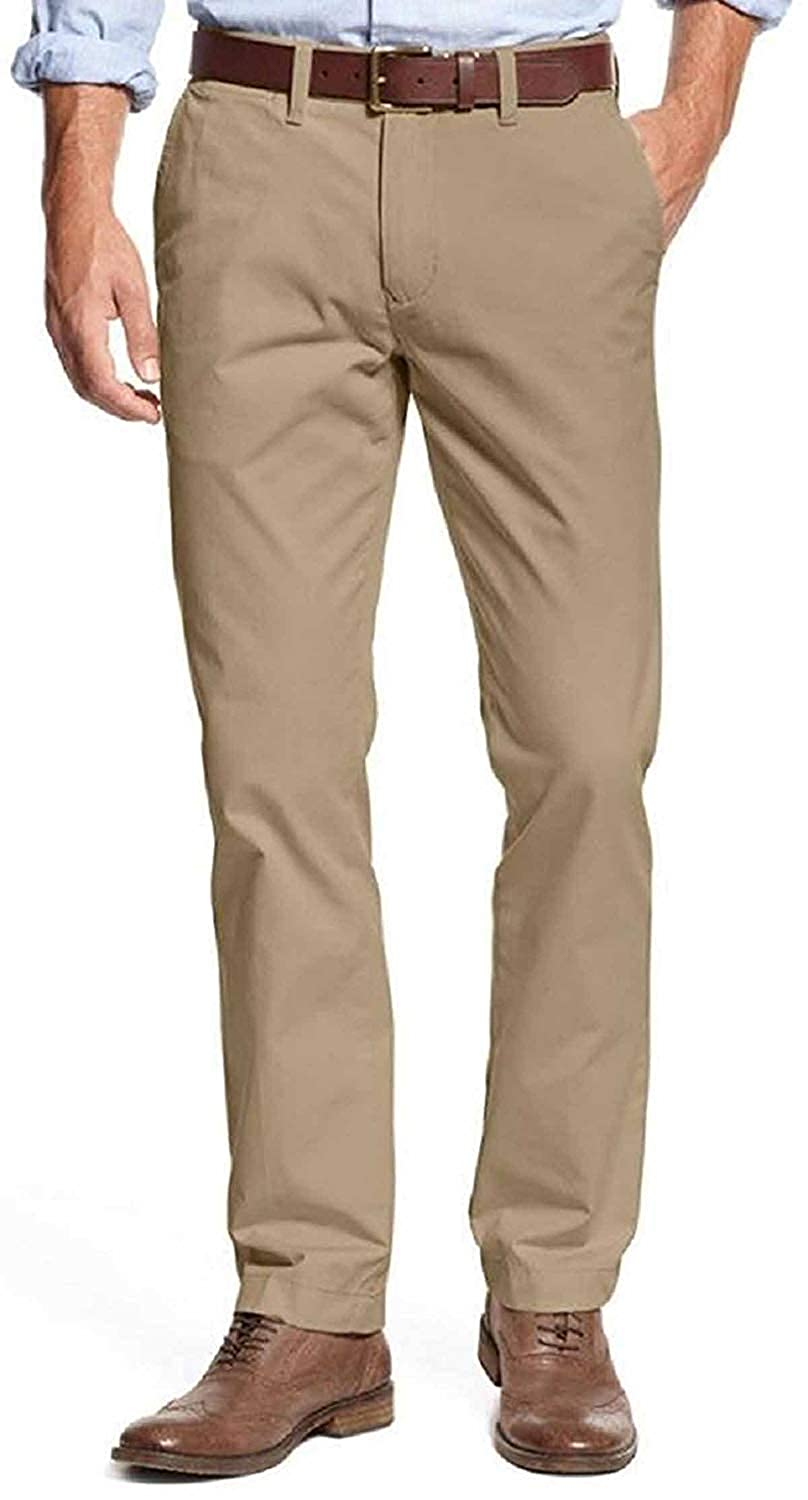 0c2a2ead Amazon.com: Tommy Hilfiger Mens Tailored Fit Chino Pants: Clothing