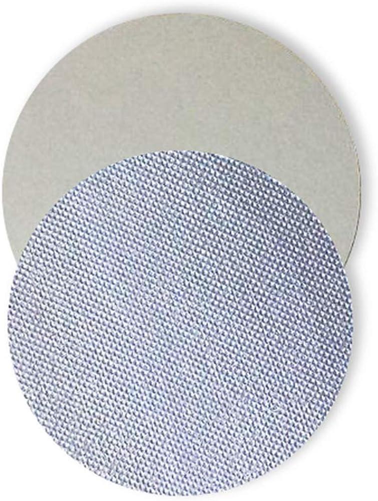 MaquiGra Personalizar Tapas de Aluminio Diámetro 10-100mm Junta Universal de Aluminio aplicable soporta Alta Temperatura para Botellas plasticas y cerámicas(PE/Pet/PP) 200piezas
