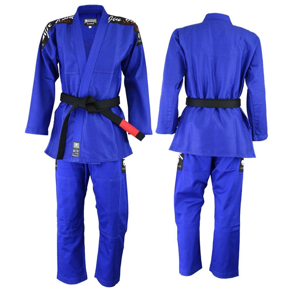 VERUSグラディウスBJJ Gi - 着物柔術MMAグラップリングユニフォーム B0725DK9YH Blue A3