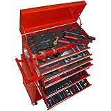 Servante d'atelier chariot à outils 7 tiroirs et + de 250 outils fournis