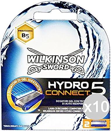 Wilkinson - Juego de 10 cuchillas de repuesto Hydro 5 para ...