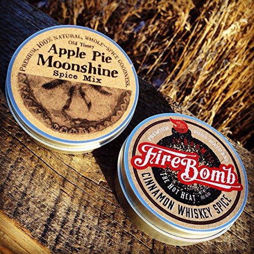 FireBomb Cinnamon Whiskey & Apple Pie Moonshine Spice Combo Pack