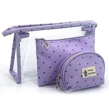 Amazon.com: apluschild 3 en 1 Funda de bolsa de cosméticos ...