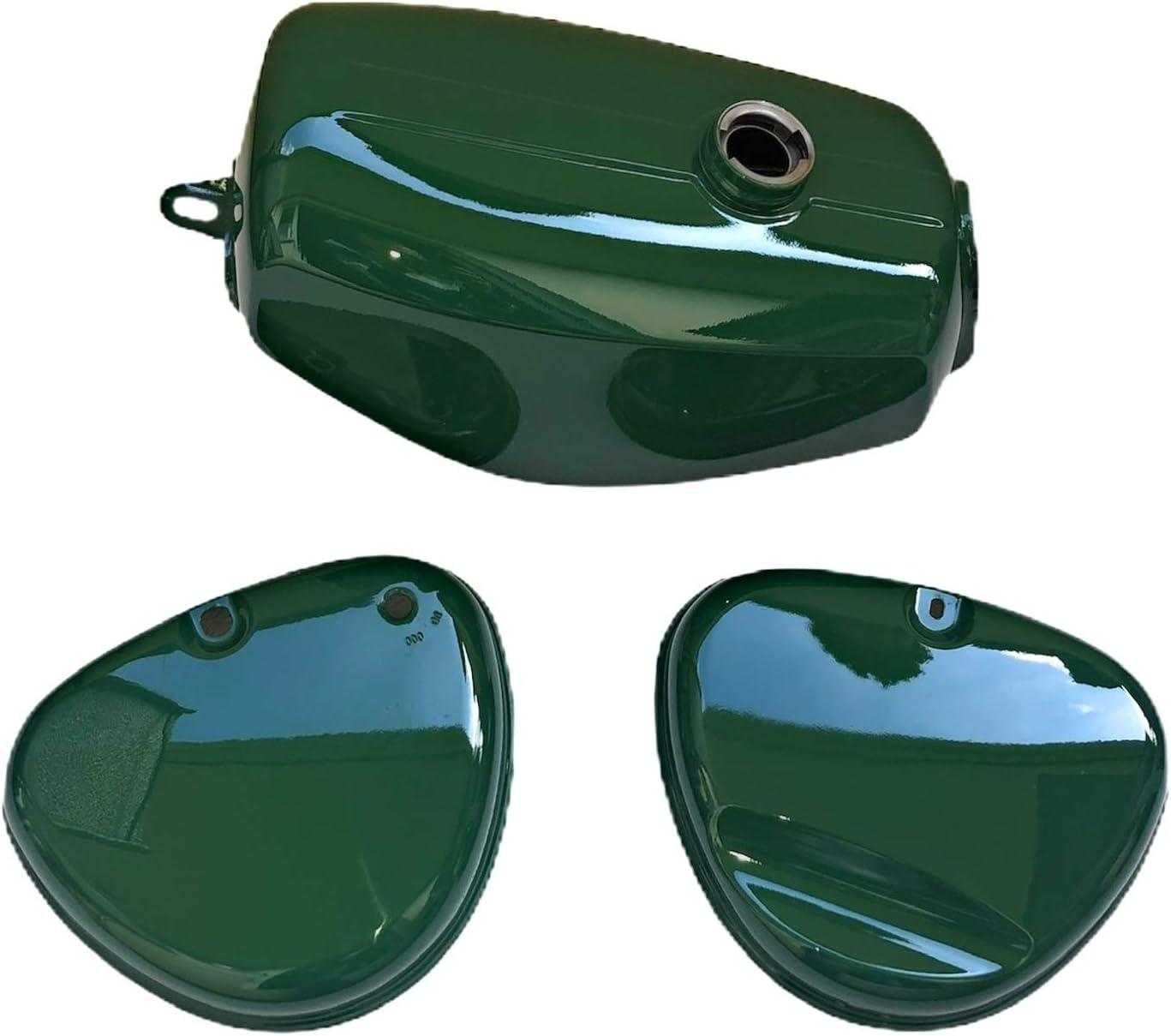 Tank Kraftstoffbehälter Seitendeckel Grün Für Simson S51 S70 Enduro Auto