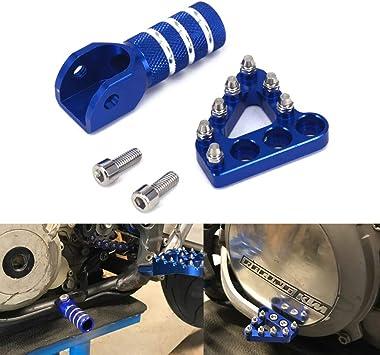 Black CNC Rear Brake Pedal Step Gear Shift Shifter Lever Tip For KTN EXC 690 990
