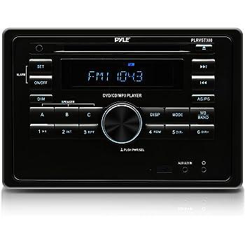 Amazon Com Pyle Plrvst300 Rv Wall Mount Bluetooth Cd Dvd