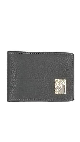 Amazon mens versace classic slim medusa leather wallet with mens versace classic slim medusa leather wallet with box grey wmetal logo colourmoves Images