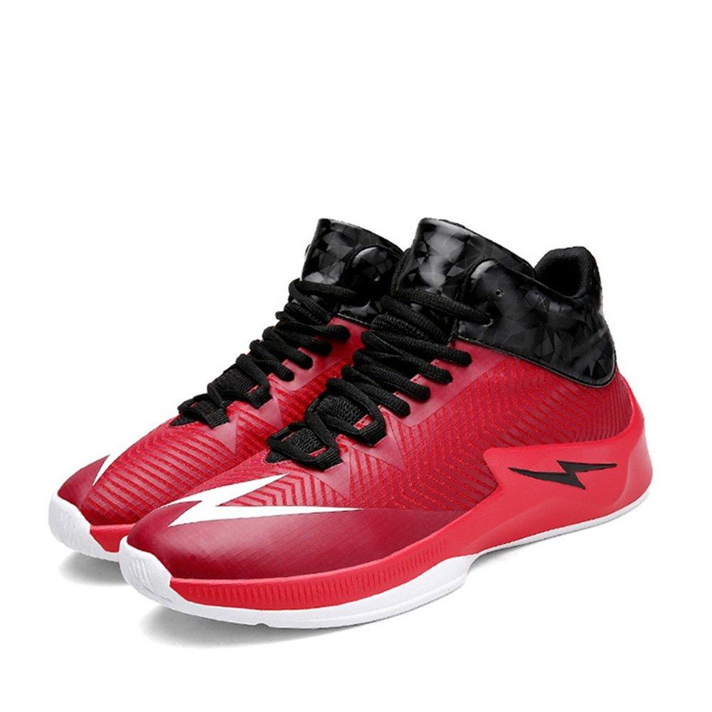 Zapatos de Hombre PU Invierno Otoño Confort Zapatos Atléticos Zapatos de Baloncesto Botas de Media Pierna con Cordones para Atlético Casual Al Aire Libre 42 EU|A