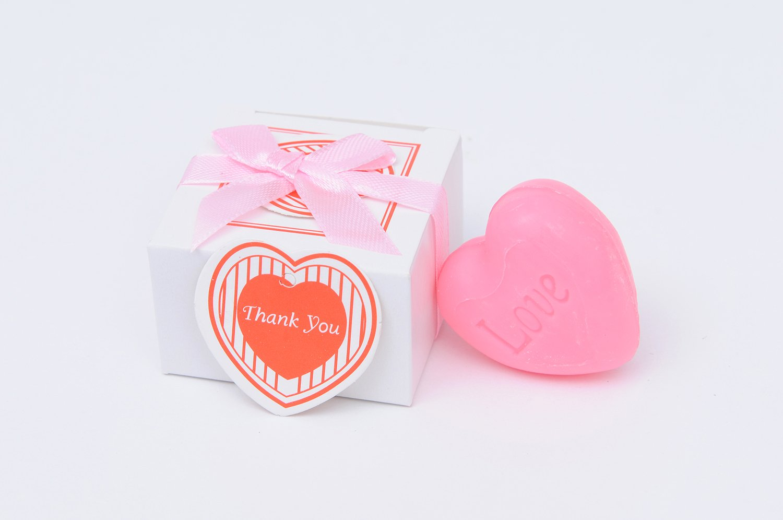 Amazon.com: Baby Shower Favors Cute Mini Heart-Shaped Soap Favors ...