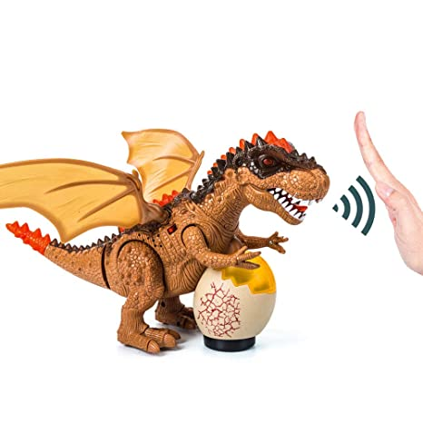 Toys & Hobbies Desing Battery Operated Dinosaur Toy Realistic Roaring Sound And Walk Xmas Gift Action Figures