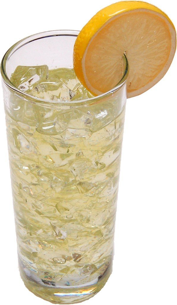 Flora-cal Products Lemonade with Ice Fake Drink Glass