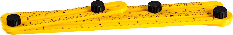 r/ègle de mesure multi-angle Holeco Angle-izer Outil de mod/èle r/ègle de mod/èle G/én/éral Angleizer pour