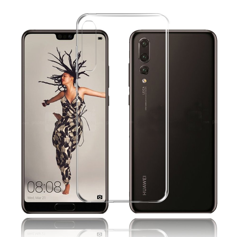 Hülle Huawei P20 Pro Hülle Huawei P20 Pro TopACE Hülle Pure Transparent Weiche TPU Silikon Ultra Slim Hülle für Huawei P20 Pro (Transparent)