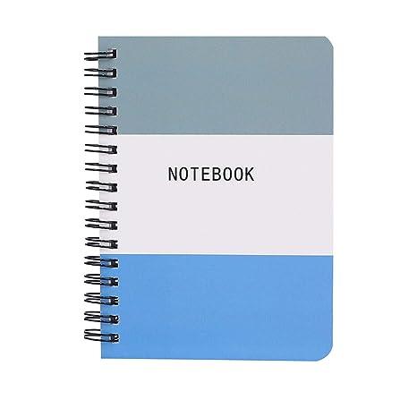 Amazon.com : Ring Binder Spiral Agenda Mini Planner Diary ...