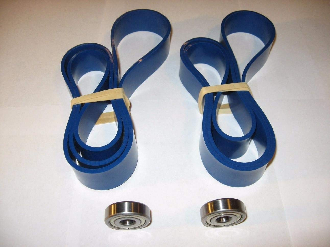 DELTA 14'' INCH BLUE MAX URETHANE BAND SAW TIRES AND 2 THRUST BEARINGS.