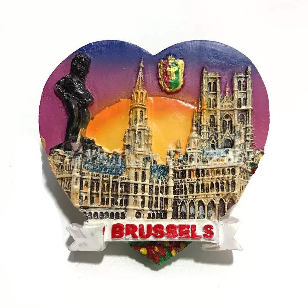 Bella Imanes para Refrigerador Fridge Magnet Sticker Frigerator Im/án Viaje Souvenir Europa Dinamarca Decor Hogar Cocina