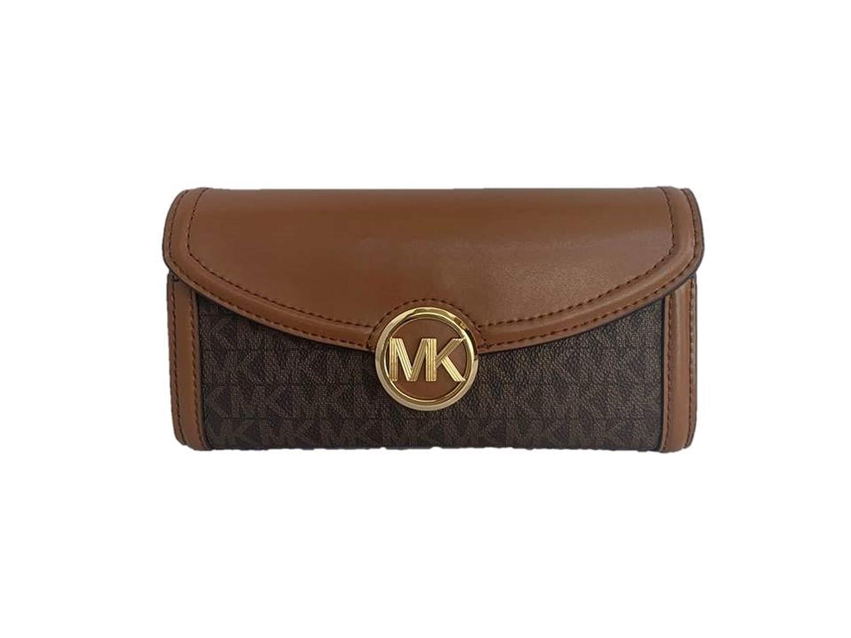 Michael Kors Fulton Large Flap Continental Wallet (2019 ...