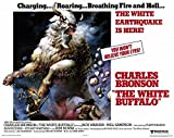 The White Buffalo POSTER Movie (1977) Style A 11 x 14 Inches - 28cm x 36cm (Charles Bronson)(Jack Warden)(Will Sampson)(Kim Novak)(Clint Walker)(Stuart Whitman)(John Carradine)
