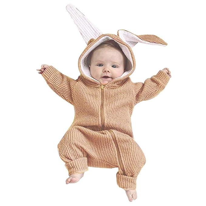 MAYOGO Traje de Animales Conejo Monos Hooded Cremallera ...