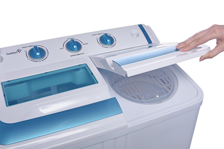 panda small compact portable washing machine 12 lbs capacity