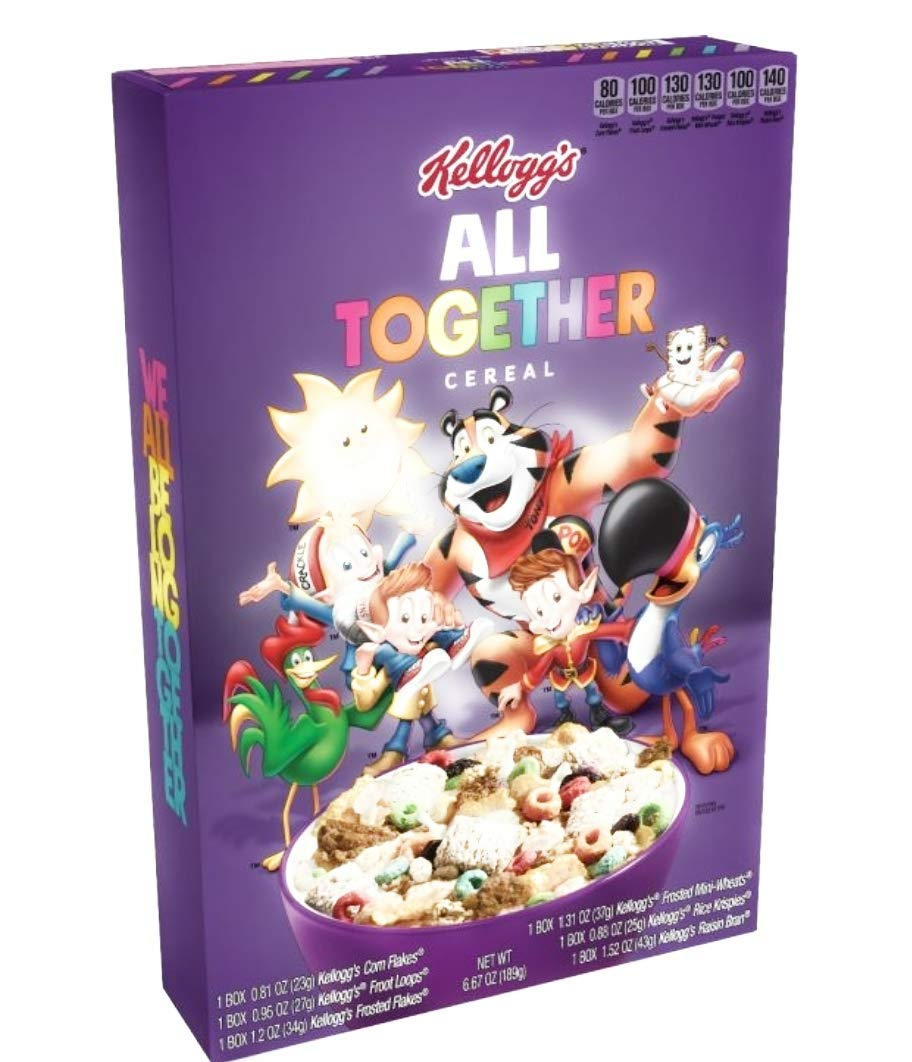 Kellogs All Together Limited Edition Cereal