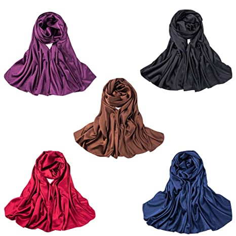 Mibuy Hijab Islámico Para Mujer Voilées I Pañuelo Vela Turbante ...