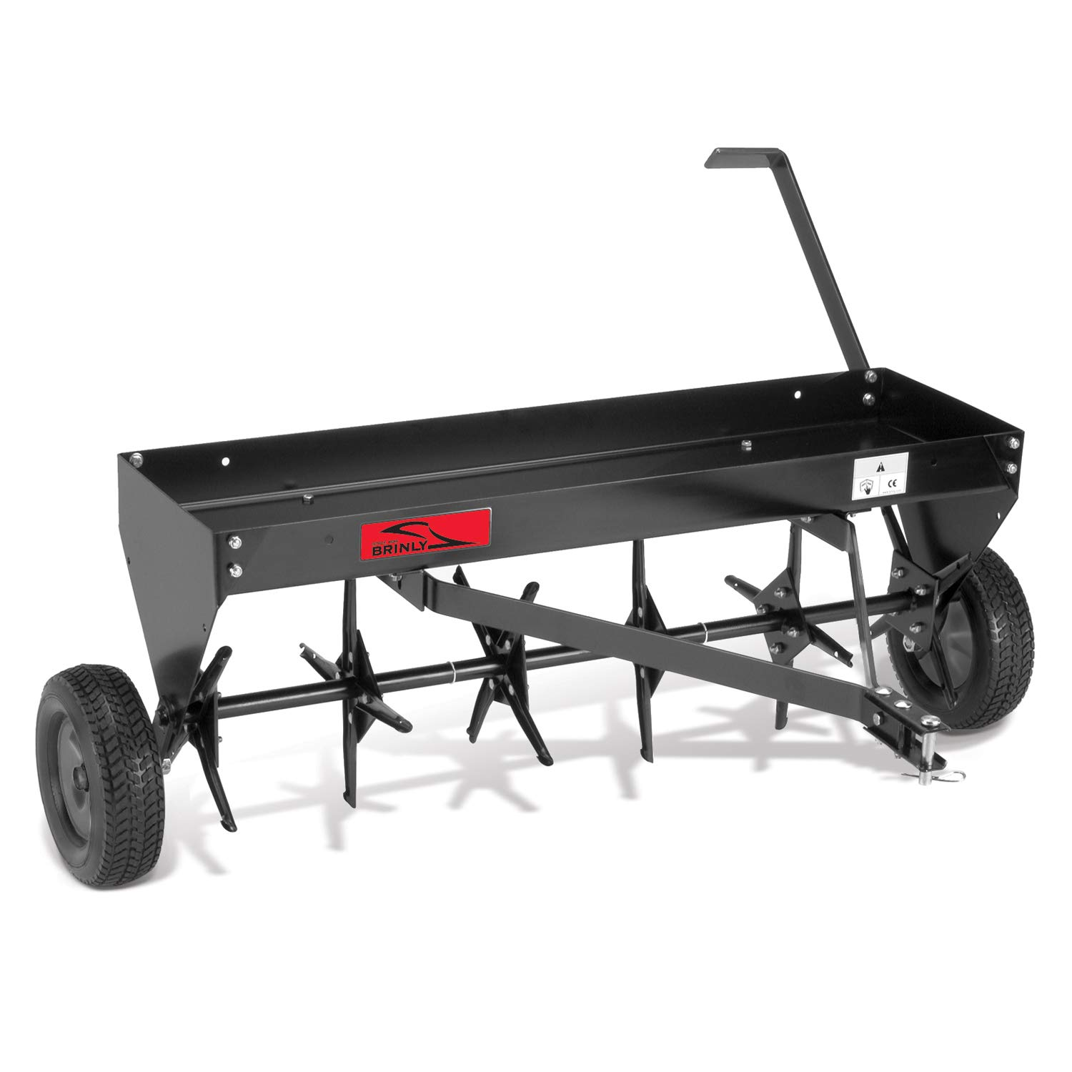 Brinly PA-40BH Tow Behind Plug Aerator, 40-Inch by Brinly (Image #1)