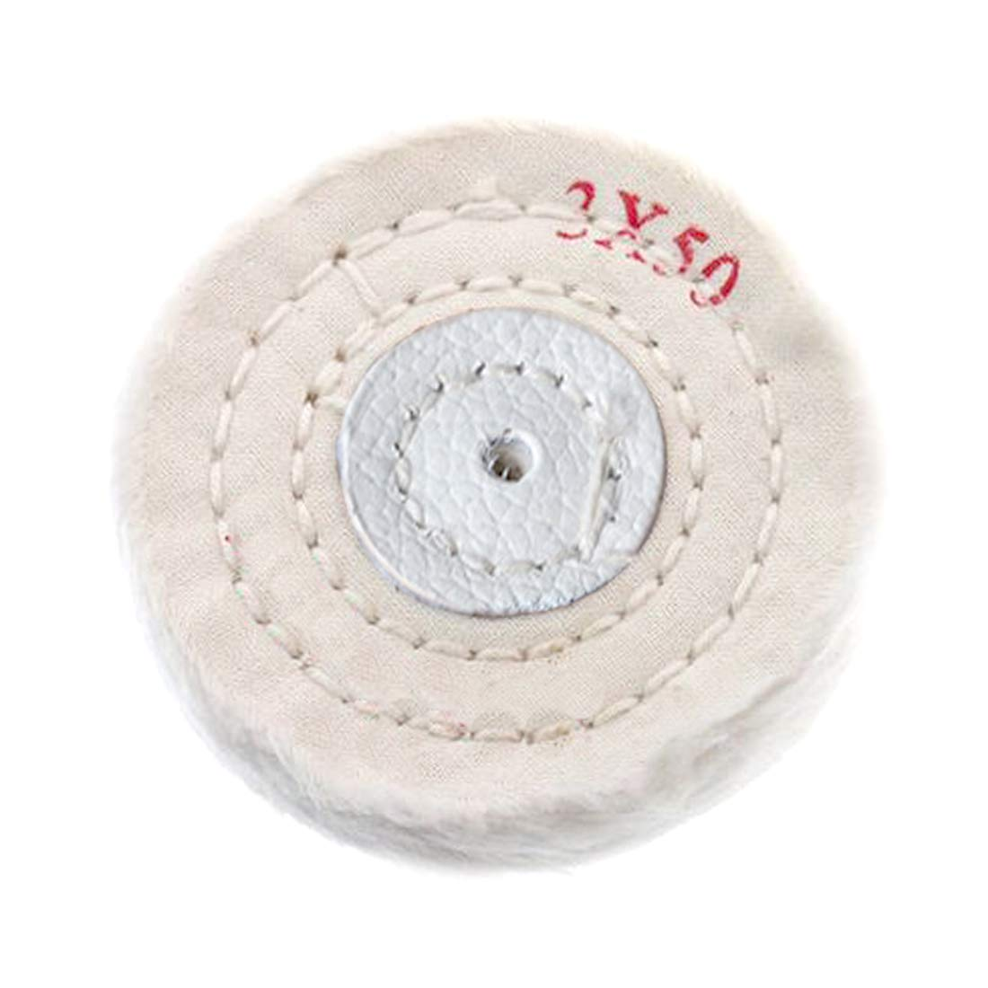 Cotton Polishing Wheel Cloth Buffing Wheel Arbor Buffer Mirror Polish 50 Layers Abrasive Tools 8 Inches 91ai-store