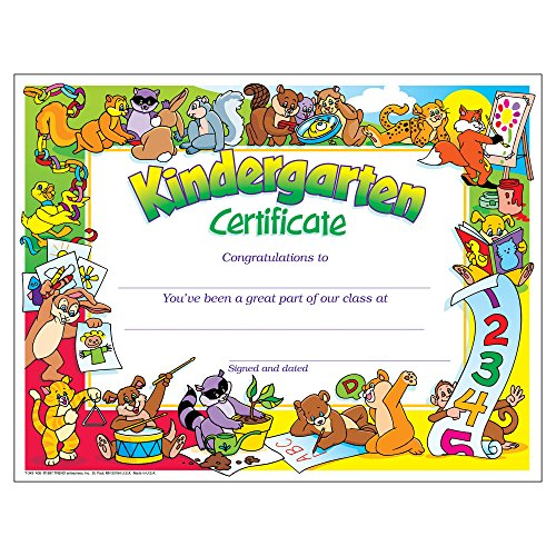 kindergarten graduation certificate  Kindergarten Graduation Certificates: Amazon.com