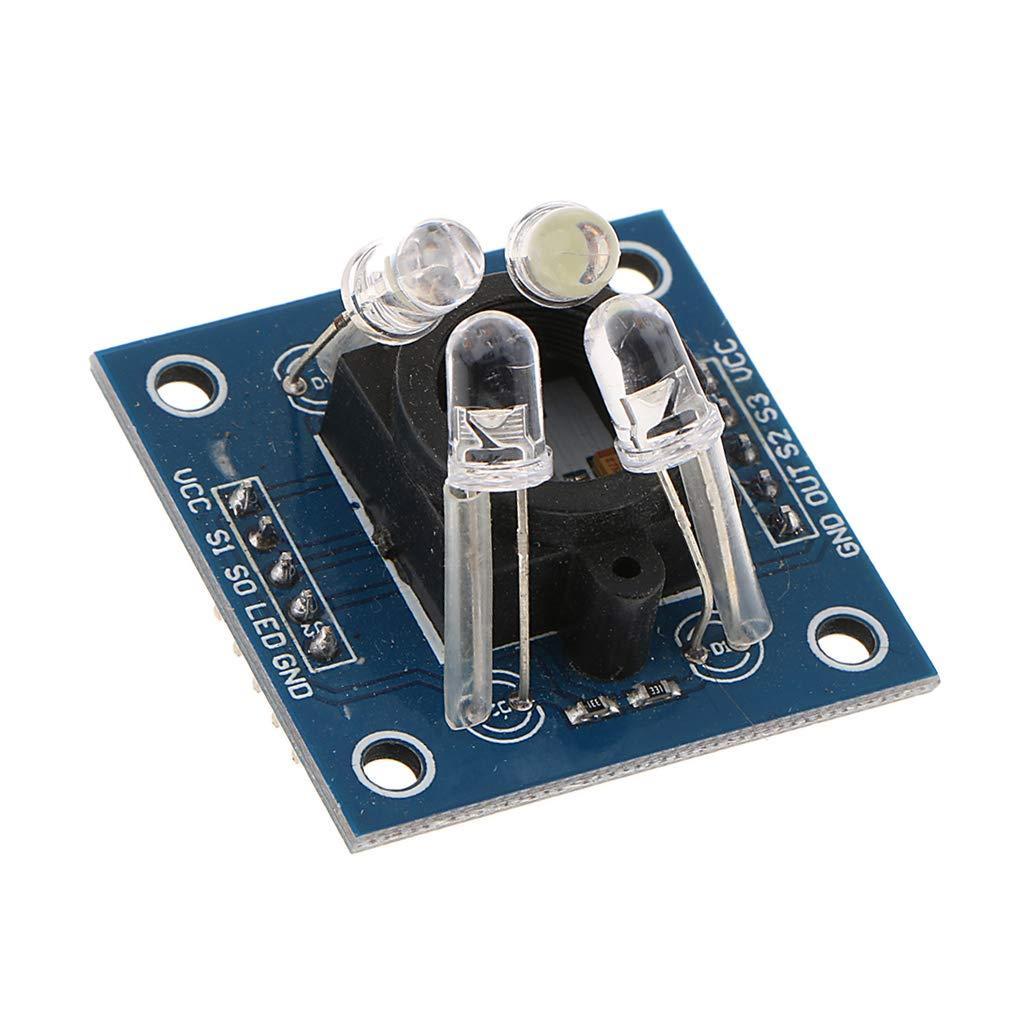 perfk Sensor de Color Módulo de Identificación GY-31TCS230 Accesorio de Alimentación Informática: Amazon.es: Bricolaje y herramientas