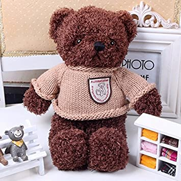 20CM Soft Ted Plush Toys Teddy Bear Juguetes Coat Skin Lovely Peluche Plush Brinquedos Best Gift