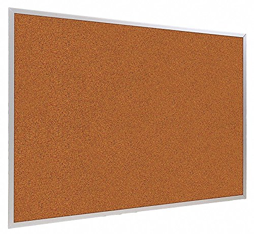 Bulletin Board, Red, Splash Cork, 48x120 (Splash Cork Board)
