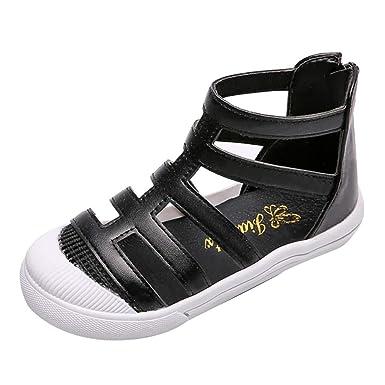 c288e3939c312 Amazon.com: Randolly Baby Shoes 👣 Kids Fashion Roman Shoes Children ...