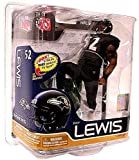 McFarlane Toys NFL Sports Picks Series 26 Ray Lewis Action Figure [Black Jersey]