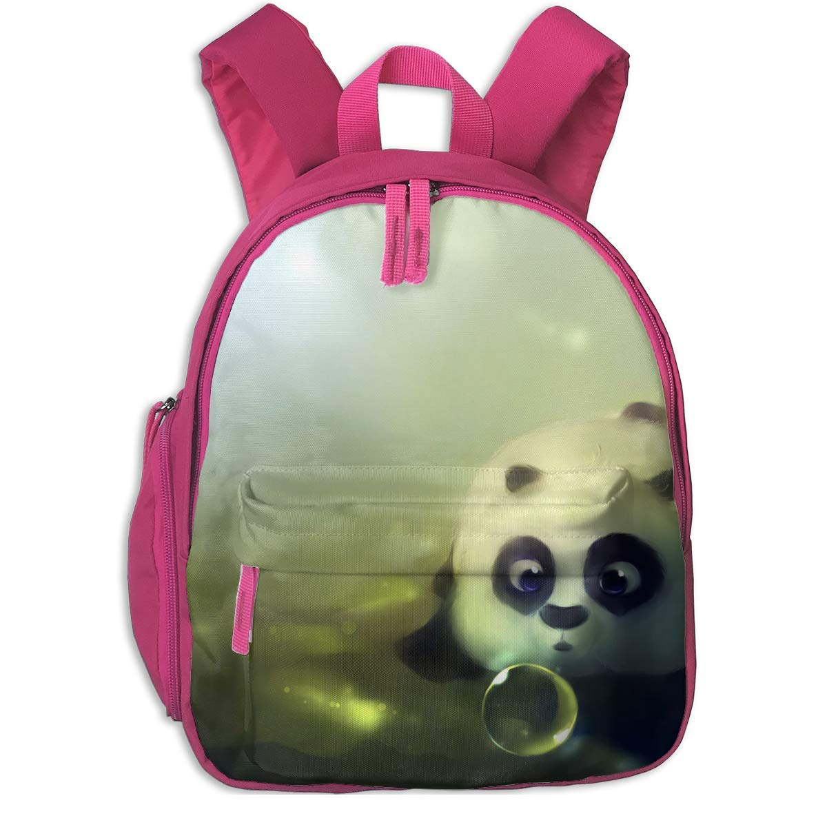 School Backpack for Girls Boys, Kids Cute Pan Grün Cartoon Backpacks Book Bag B07MNS2VC6 Daypacks Bevorzugtes Material
