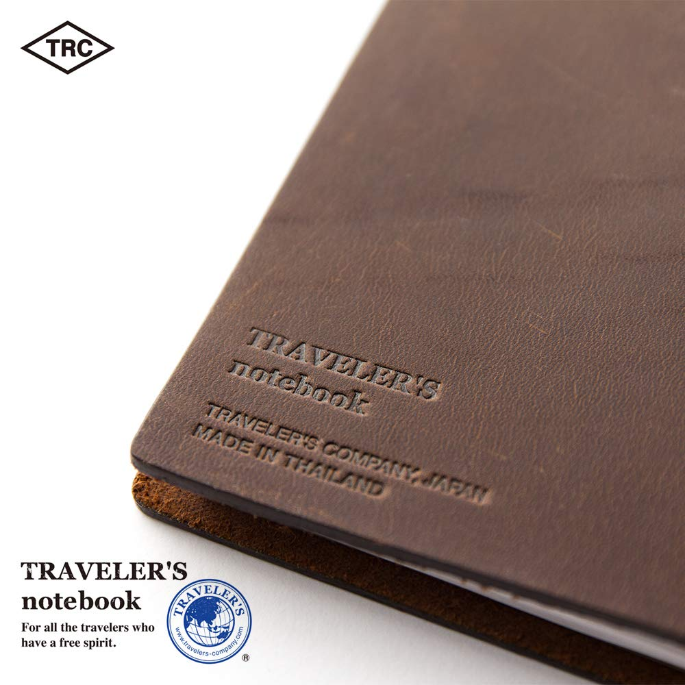 Travelers Notebook Brown Leather (1, 1 LB) by Xekia (Image #6)