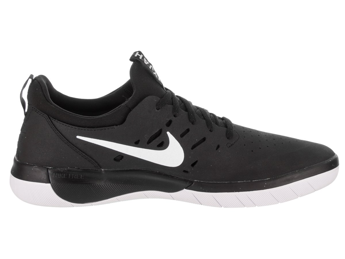 0ffff0cea1cfd0 Nike SB Nyjah Free Mens Trainers Black White - 8 UK  Amazon.co.uk  Sports    Outdoors
