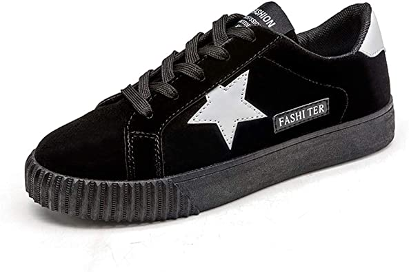 NOT100 Womens Sneakers with Star Tennis