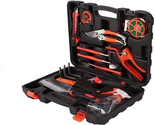 Juego de herramientas de jardín Pathonor 12 Pcs Set de herramientas da jardín Cuidado de la planta Herramienta de precisión en el caso 15 pulgadas Incluye pala, sierra, medida etc: Amazon.es: Hogar