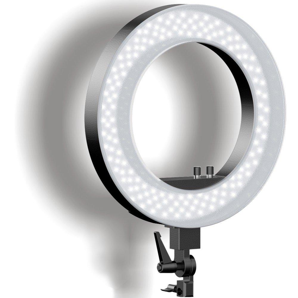 qiAYaリングライトカメラIphone写真用 COMINU051249  18 INCH-LED B071145F1T