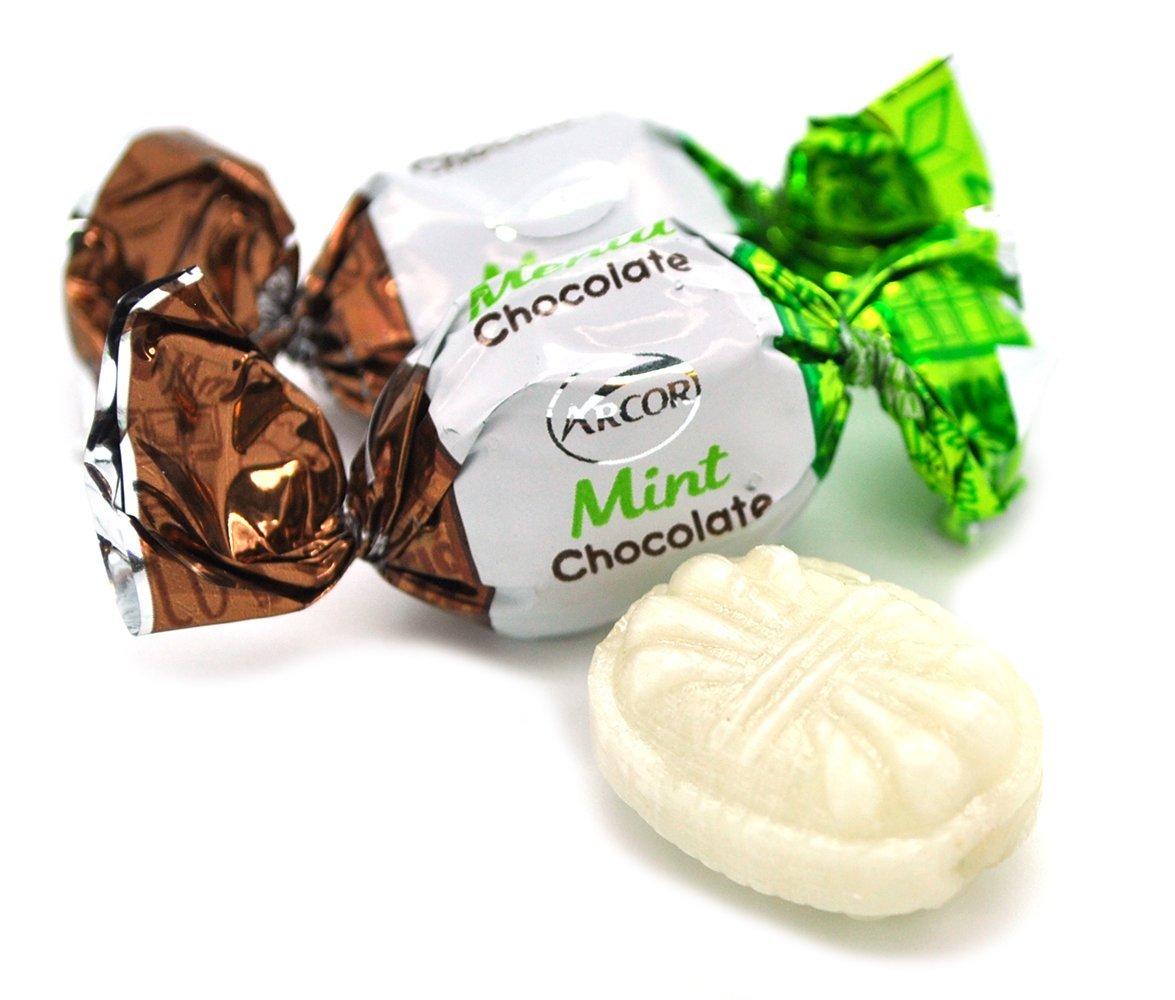 Amazon.com : SweetGourmet Arcor Chocolate Filled Mint (Pack of 2 X 5oz) : Grocery & Gourmet Food