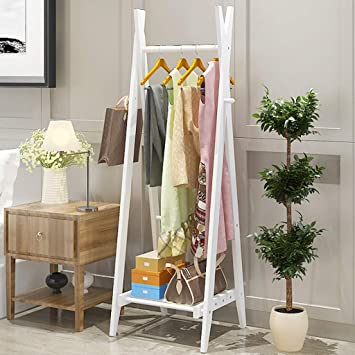 XQAQX Coat Rack Piso Perchero Dormitorio Percha Simple ...