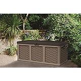 Starplast Rattan Style Garden Storage Box 634L