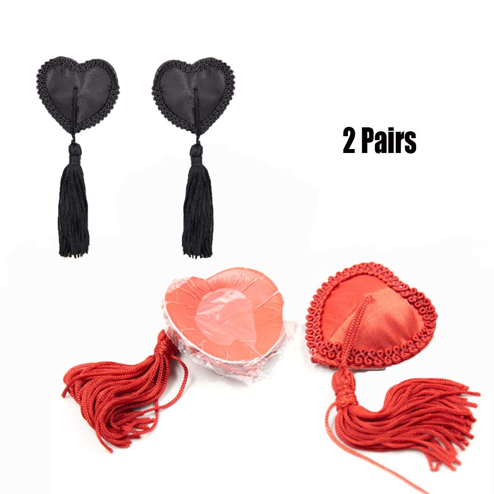 Yzwen 2 Color Pairs Nipple Clamps Sex Toys for Breast Clips Nipples Milk Clips Stimulator Adult Games Flirting Teasing SM Adjustable Nipple Jewelry BDSM Nipple Tensioner
