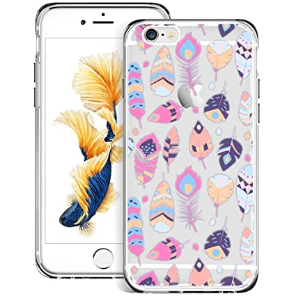 Amazon.com: Peacock Art - Carcasa para iPhone 6S y 6S 6 ...