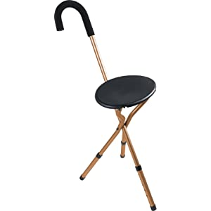 NOVA Medical Products Folding Seat Cane
