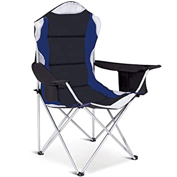 Amazon.com: giantex Camping Silla De Pesca soporte para ...