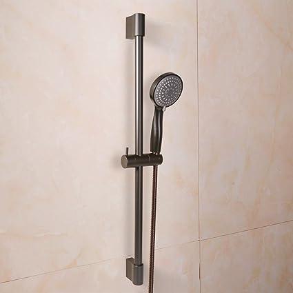 KES Bathroom Sliding Shower 3 Function Head Hand Held Shower With Slide Bar  Handheld Showerhead With