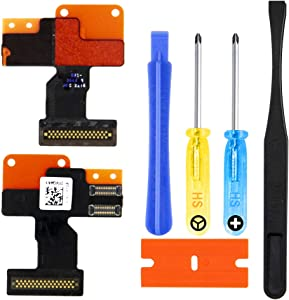 MMOBIEL LCD Flex Cable Connector Replacement Kit Compatible with Apple Watch Series 1 42mm incl. Pre-Installed Adhesive