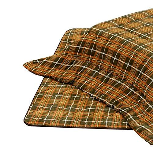 こたつ布団 正方形用こたつ布団(掛敷セット) 正方形80巾コタツ用 厚掛 タータン柄80   B077NZ3V5Q